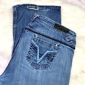👖I•VIGOSS•I Fit/Bootcut Jeans 22x31👖